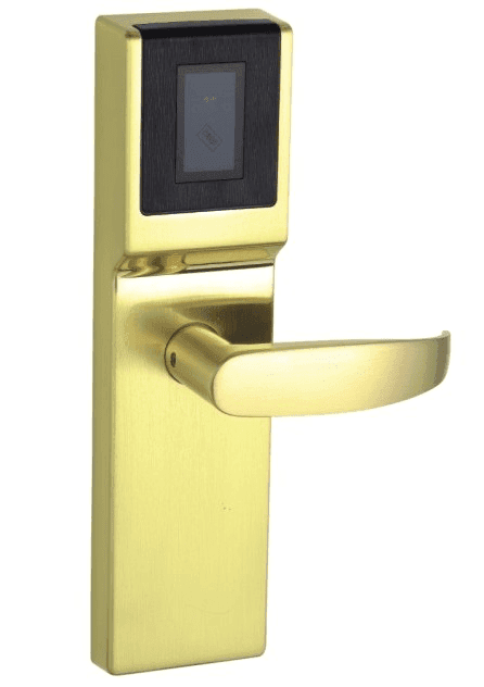 Hot smart electronic hotel locks Guesthouse Kaida glass hardware Brand