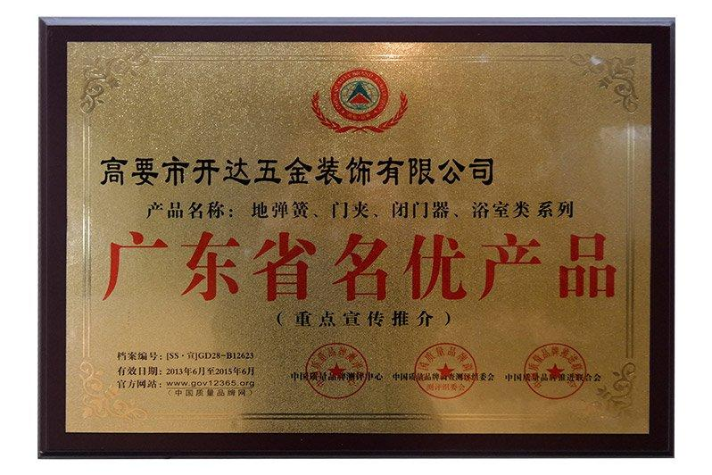 Guangdong province outstanding products