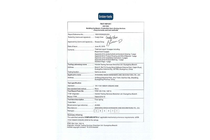 Intertek Test Report 02