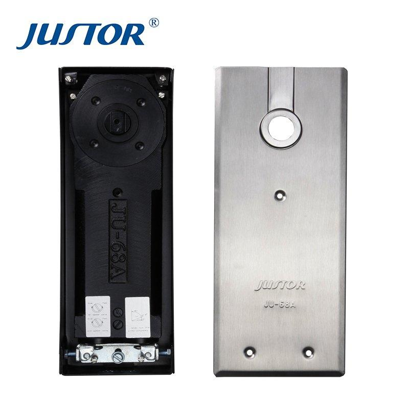 JU-68A adjustable vvp glass bathroom door floor spring price