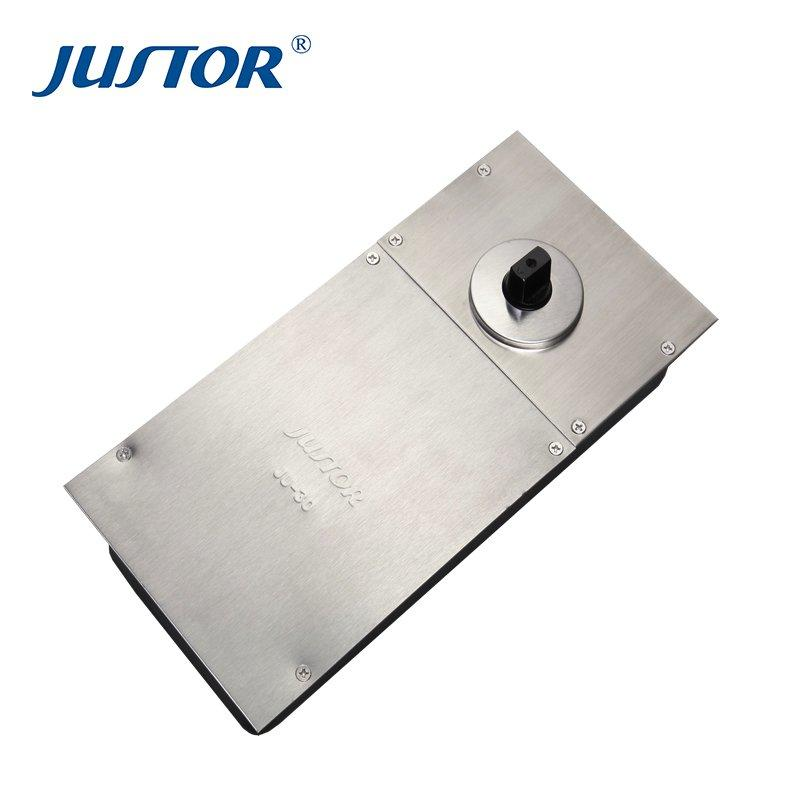 JU-30 Glass Door hardware 180 Degree Heavy Duty Hydraulic Floor Spring