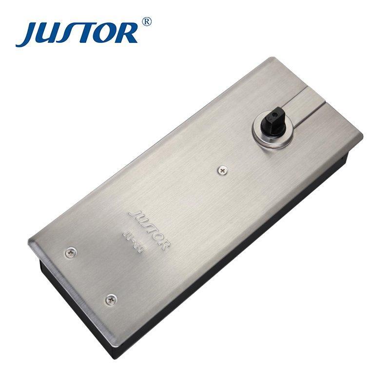JU-80 Duplex floor spring single cylinder 130KG Floor hinge