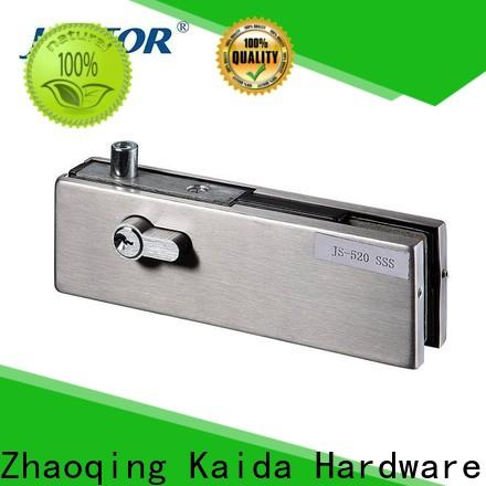 Kaida glass hardware reliable patch fitting wholesale for hotel
