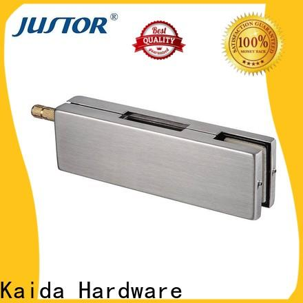 Kaida glass hardware frameless glass door fittings supplier for offices