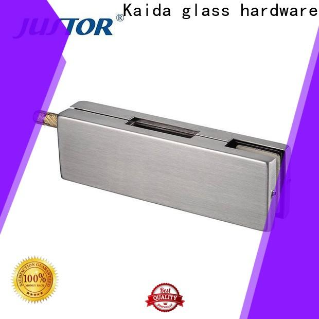 Kaida glass hardware stainless steel glass patch fittings manufacturer for meeting room