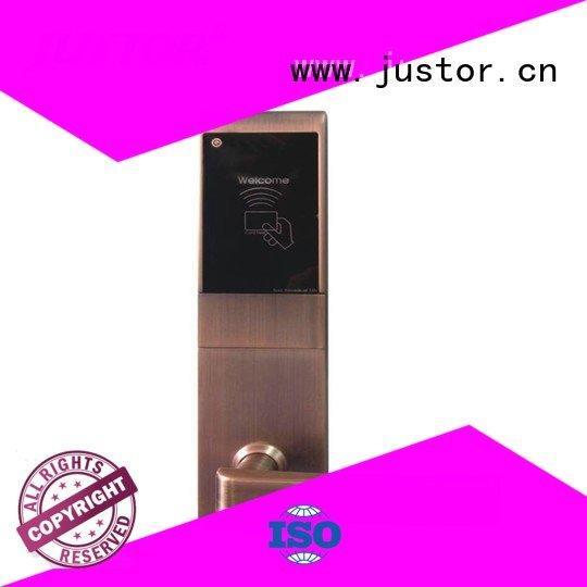 60mm Guesthouse door digital door lock Kaida glass hardware