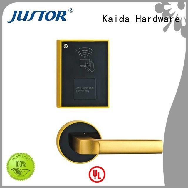Kaida glass hardware Brand lock door ez0202 electronic hotel locks