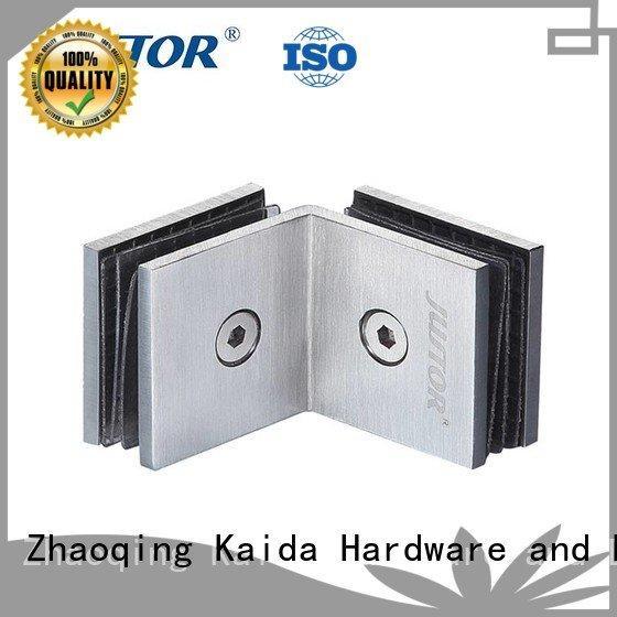Wholesale 8mm Stainless steel glass door hinges Kaida glass hardware Brand