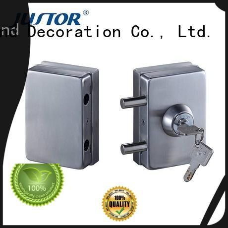 excellent glass door lock half round series for bathroom