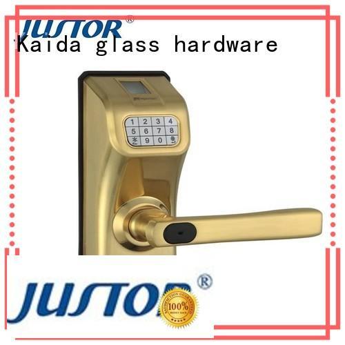 Kaida glass hardware professional hotel door locks wholesale for hotel