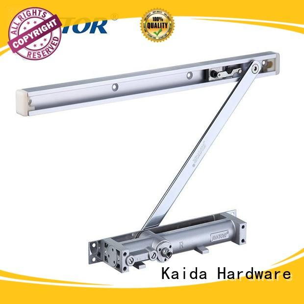 Kaida glass hardware square shape heavy duty door closer factory direct supply for hotel