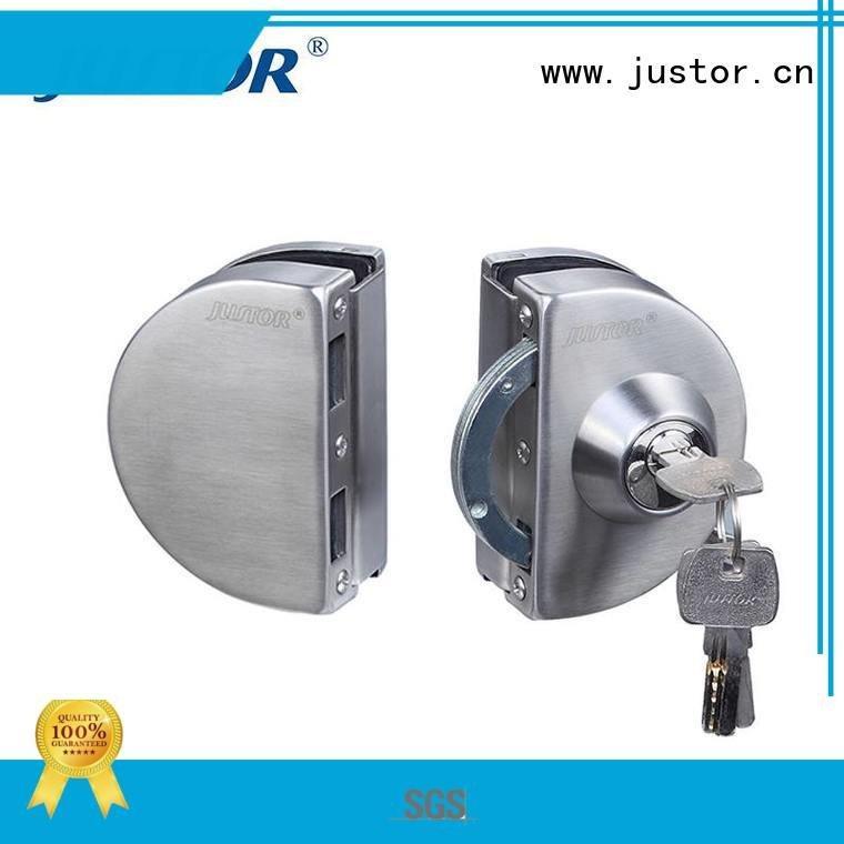 Hot sliding glass door handle with lock door glass door lock elegance Kaida glass hardware