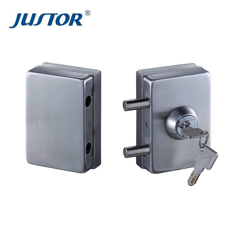 JU-W510 Office Glass Door Digital Password Smart Biometric Finger Print Lock