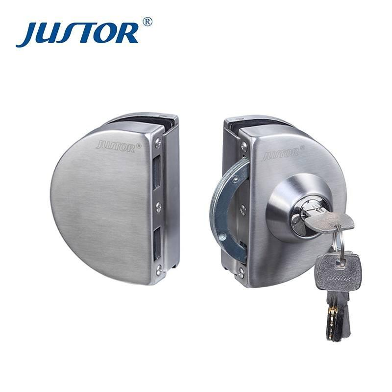 JU-W508 Double side door control high quality sliding glass door lock for glass door