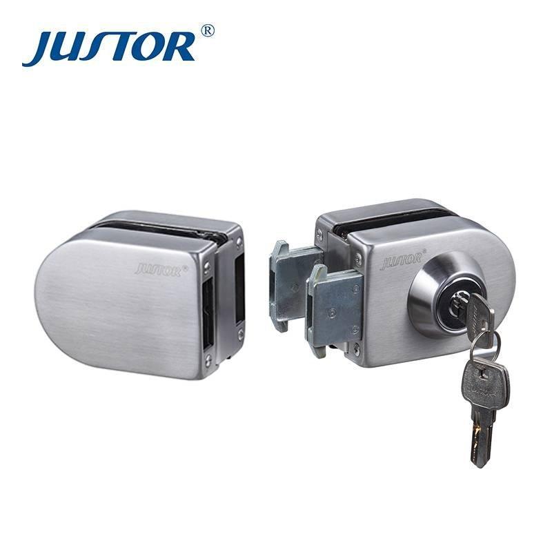 JU-412 Stainless Steel Glass Door Lock