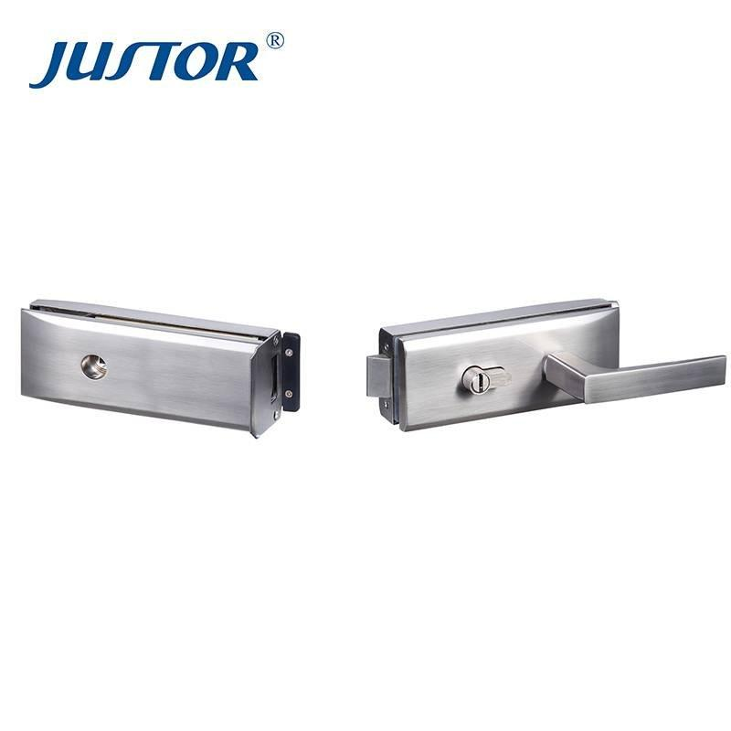 JU-W520A glass lock and handle for wholesale with good prices