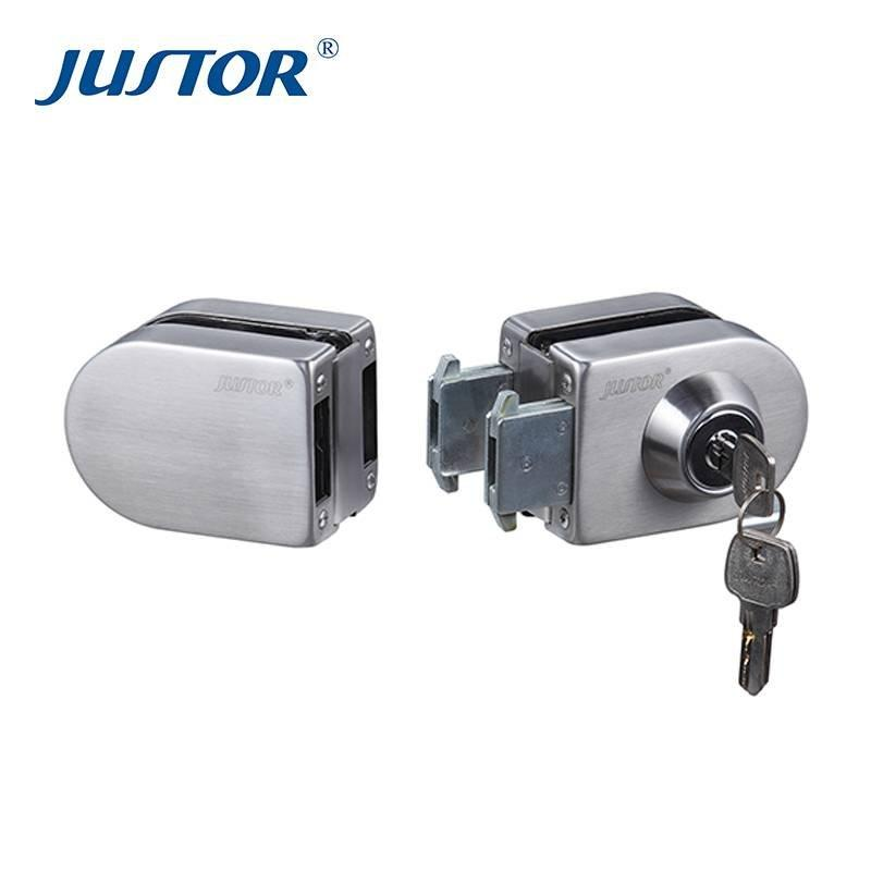 JU-410 Everstrong glass door accessories single glass door lock or lock for glass door