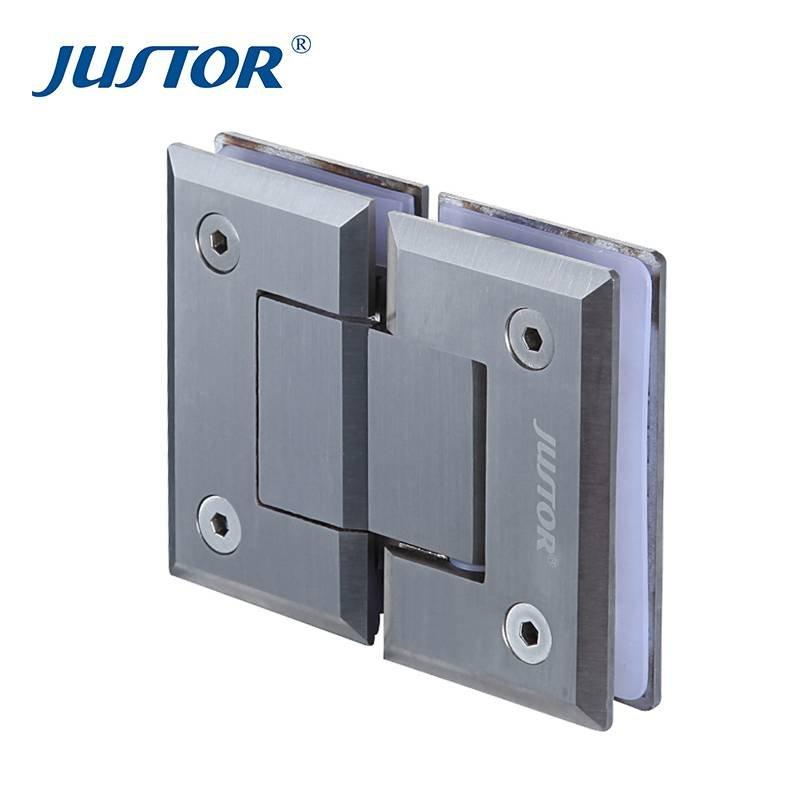 JU-W204  stainless steel tempered glass door shower hinge