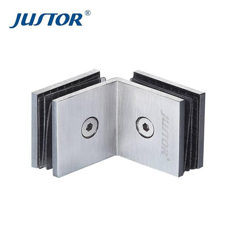 JU-W109 Factory price 304 316 stainless steel hydraulic glass shower door hinge