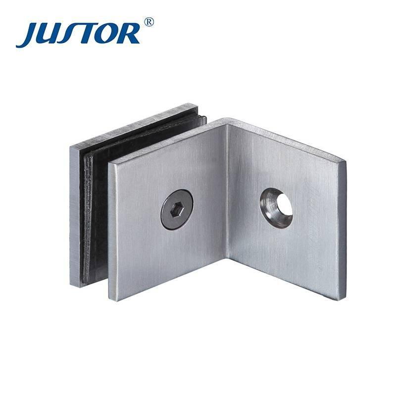 JU-W108 Brass door glass to wall door hinge