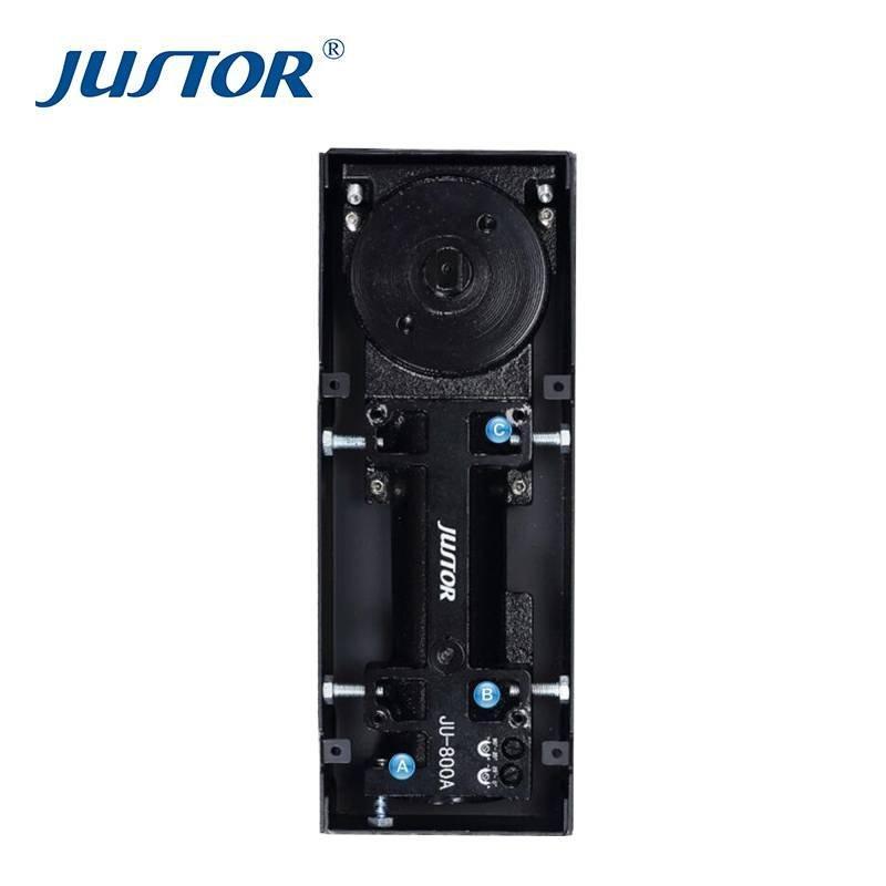 JU-800A Hardware Glass Door Accessories Floor Spring , Floor Hinge