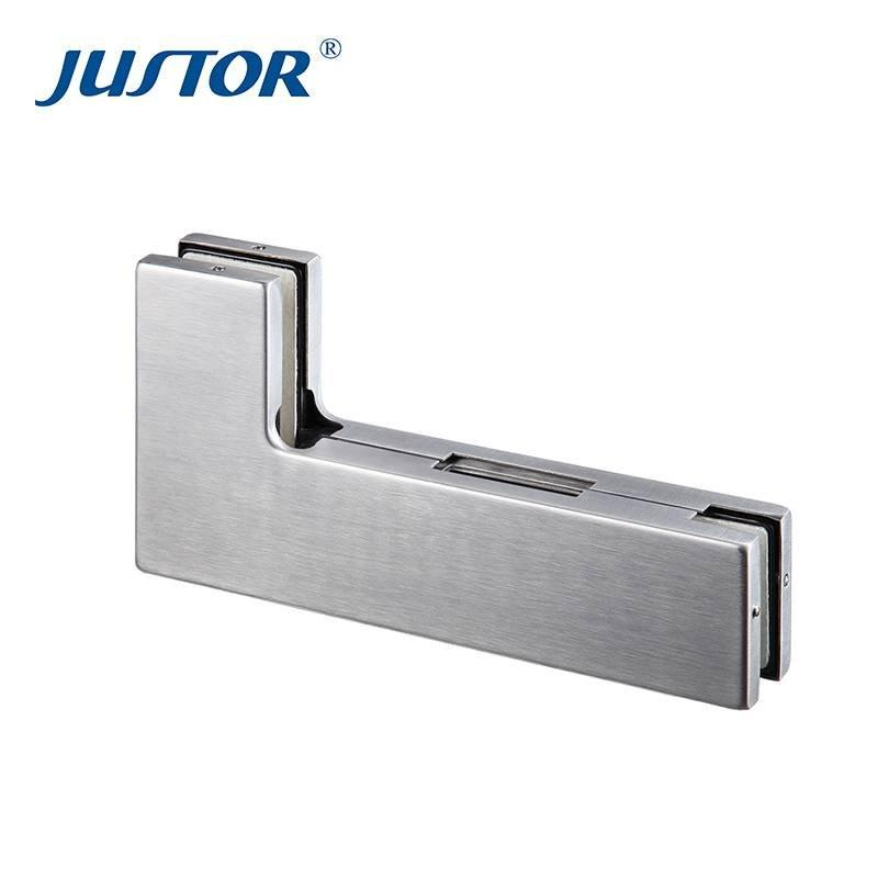 JU-620B Hot sale overpanel pivot patch fitting glass door hardware pivot patch fitting