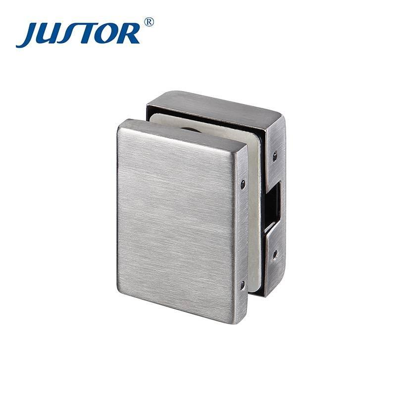 JU-530B Glass fitting accessories zinc alloy patch fitting for 10-12mm toughened glass