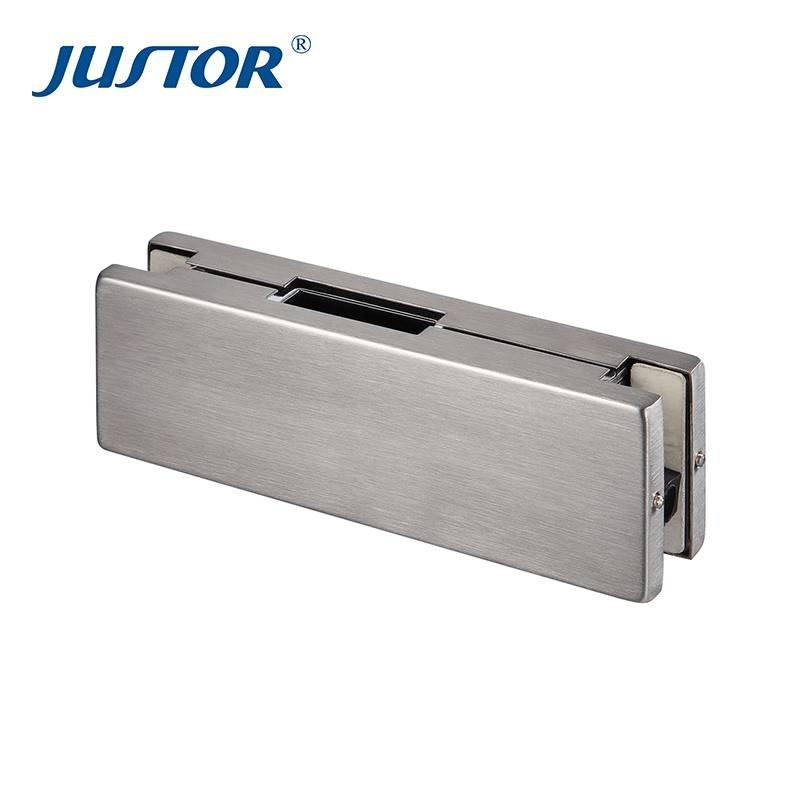 JU-510B Hot sale overpanel pivot patch fitting glass door hardware pivot patch fitting