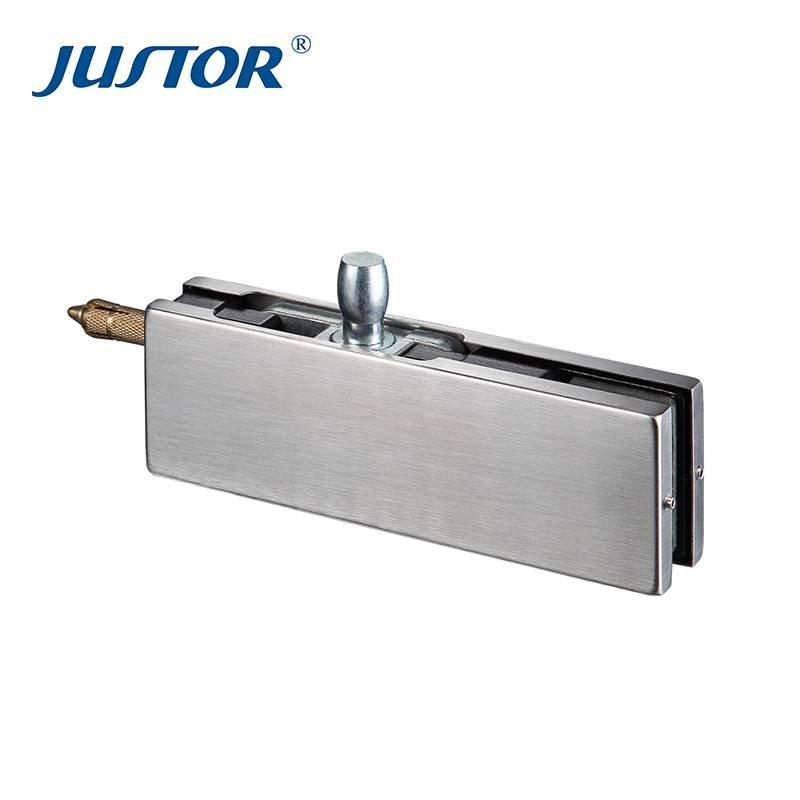 JU-410 SS304 over panel connector with glass door clamp patch fitting