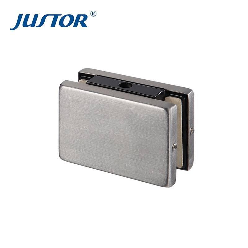 JU-320 Zinc Alloy Glass Clamp / Glass Clamp Supports / Patch Fitting