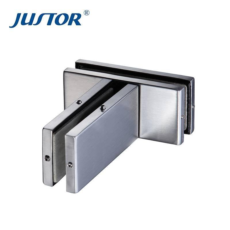 JU-223 China manufactur Glass Door Stainless steel Patch Fitting