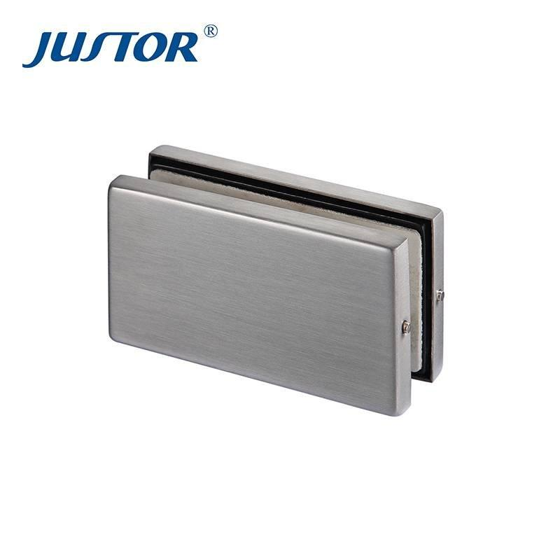 JU-220 good price stainless steel durable glass swing patch fitting