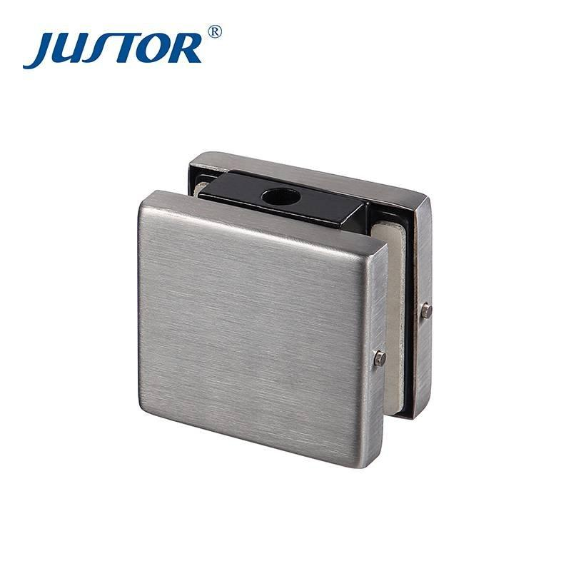 JU-212 304SS cover aluminum alloy body upper patch fitting for 8-12mm tempered glass