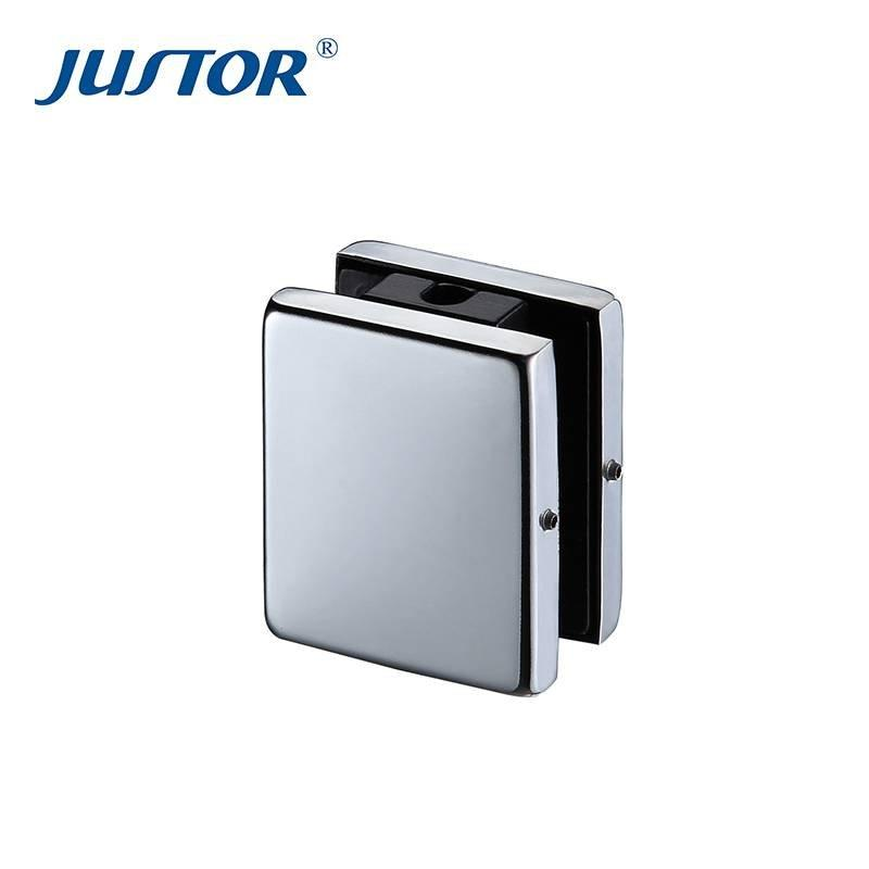 JU-122B Glass Door Building Project Top Patch Fitting,Top Sell High Quality Glass Door Patch Fitting