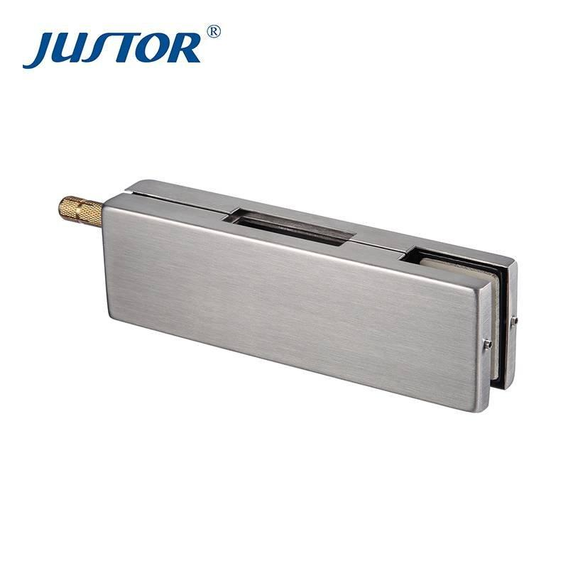 JU-011B High quality frameless glass door patch fitting/glass door clip