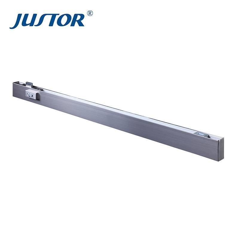 JU-10 Long door clip glass clamps zamak patch fitting