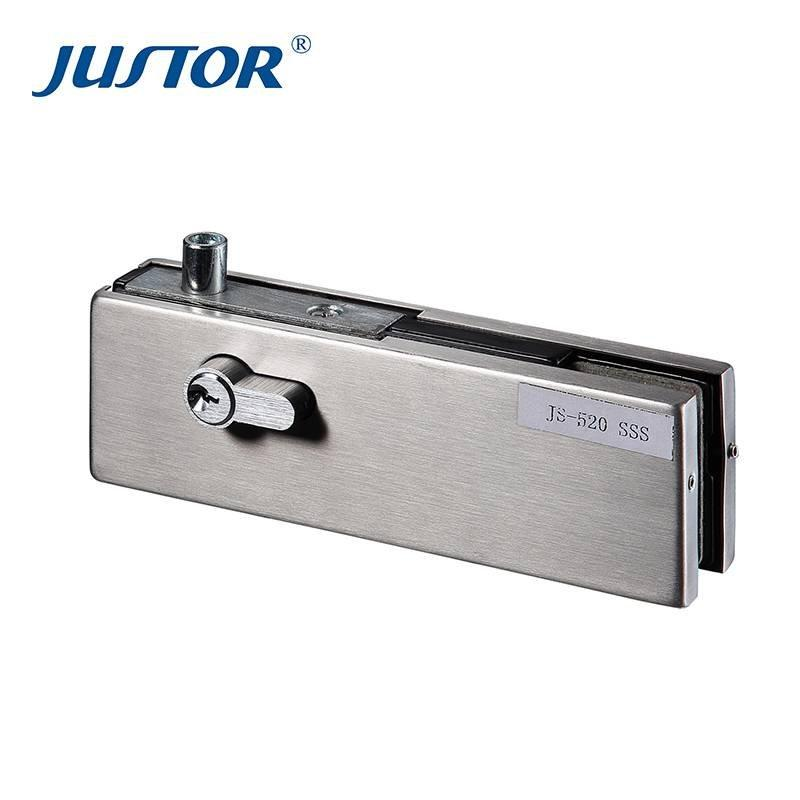 JS-520 patch fitting Top glass door lock fitting