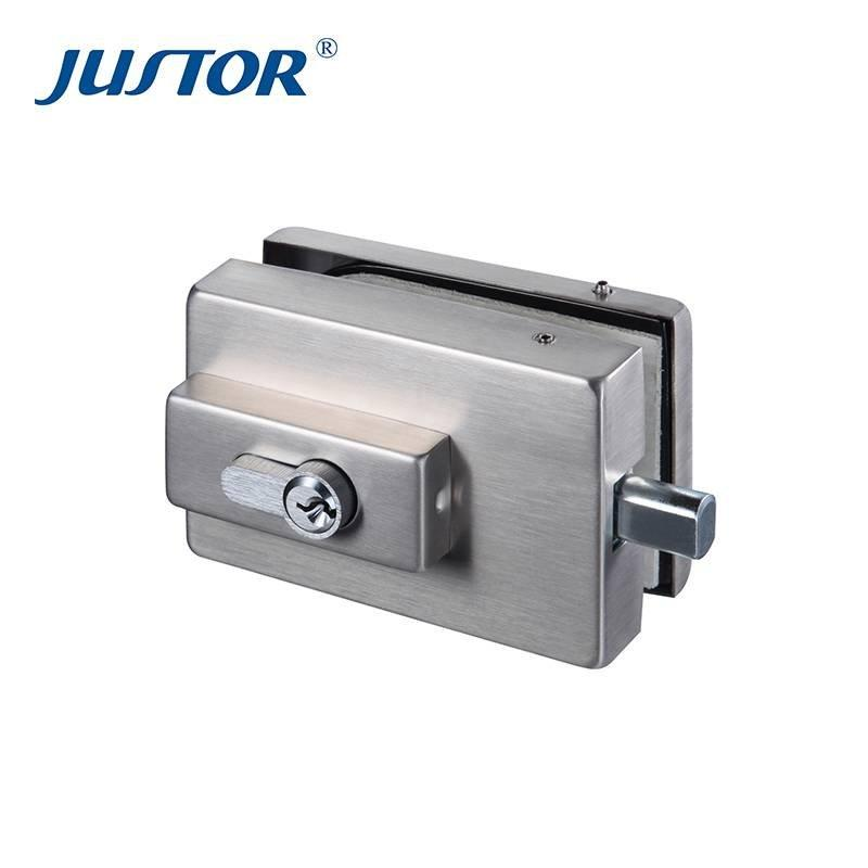 JS-530 glass to glass floor patch fitting lock and glass door lock clamp