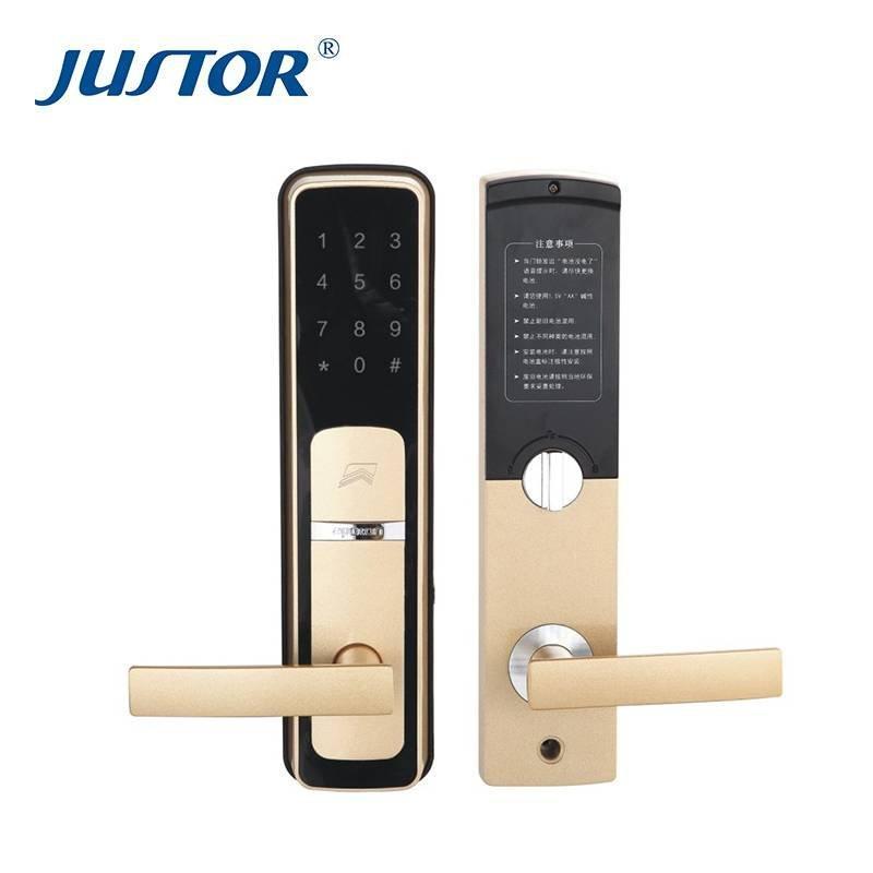 Smart wooden door lock EZ0513C
