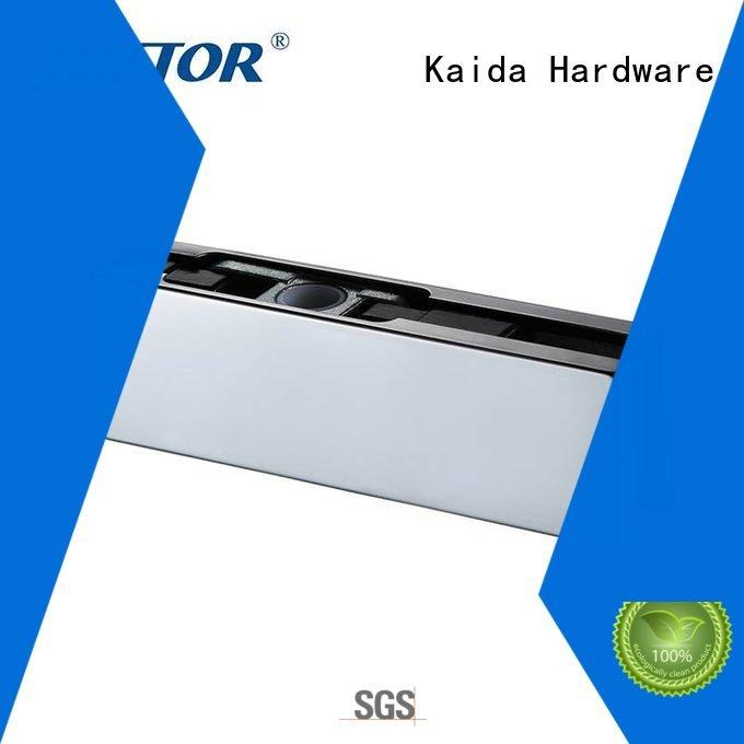 zinc floor spring 12mm Aluminum Kaida glass hardware patch fitting