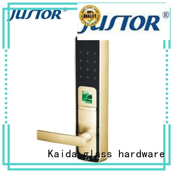 Kaida glass hardware Zinc alloy smart lock factory direct supply for offices