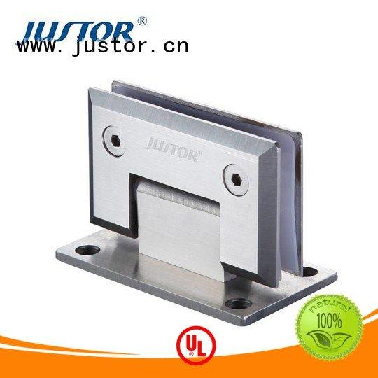 Kaida glass hardware glass to glass hinges automatically shower door Shower room Stainless steel
