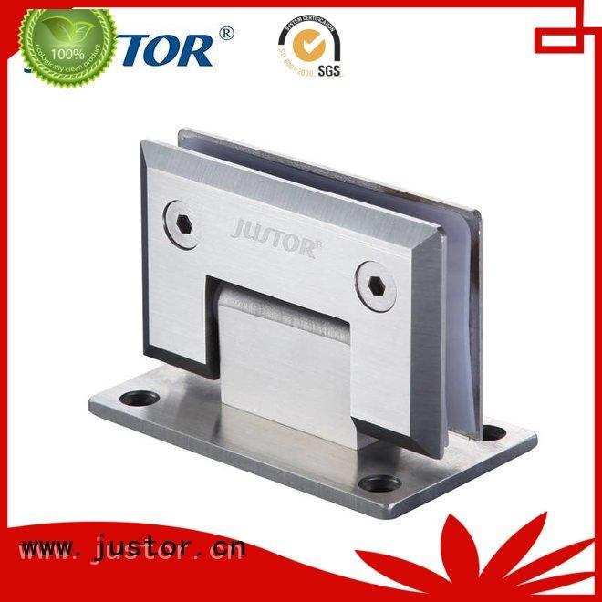 glass to glass hinges 180 degree glass door hinges automatically Kaida glass hardware
