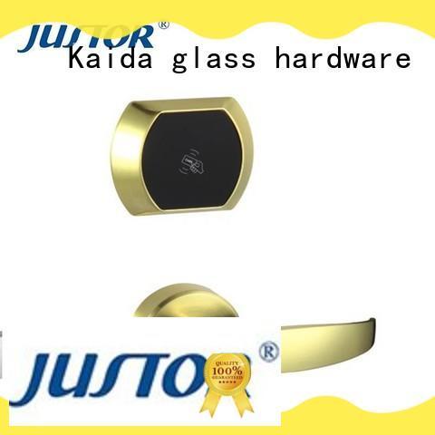 Kaida glass hardware Zinc alloy hotel electronic door locks directly sale for home