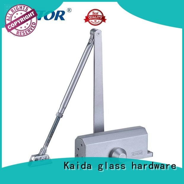 concealed magnetic door closer design for one-way casement doors Kaida glass hardware