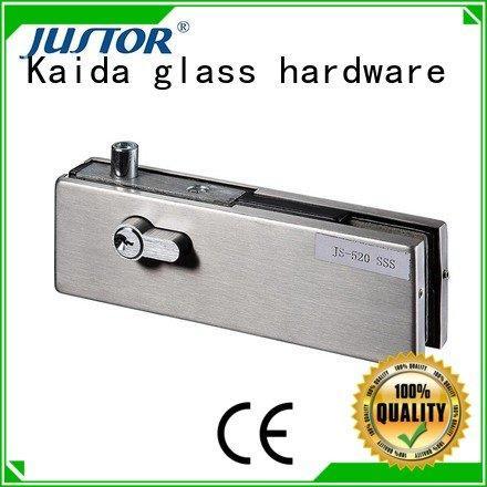 Kaida glass hardware Brand zinc floor spring Aluminum glass door fittings