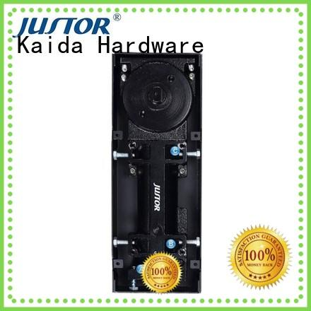 Kaida glass hardware stainless steel floor spring for glass door factory price for hotels