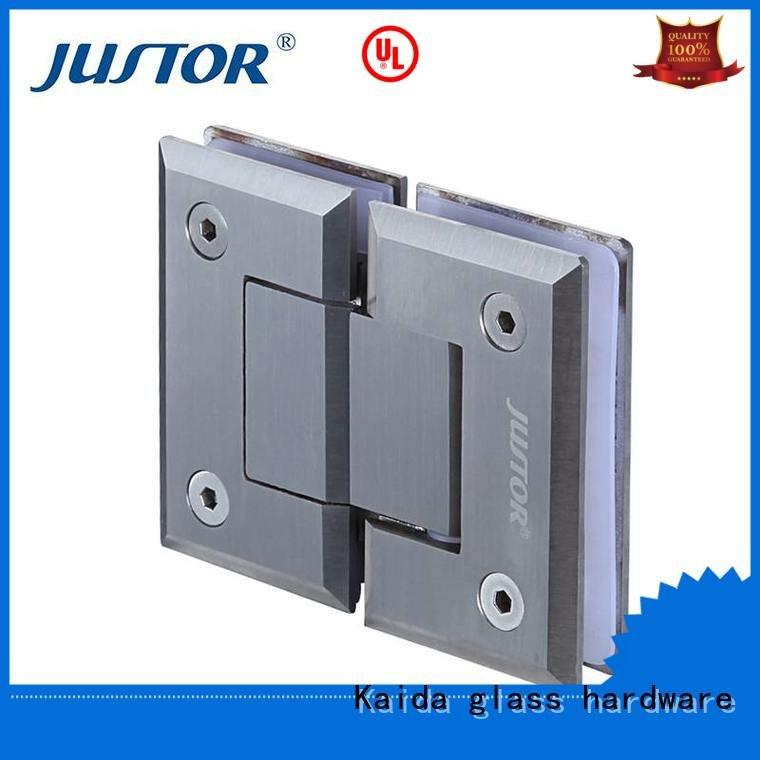 glass to glass hinges Stainless steel glass door hinges 180 degree