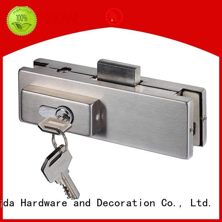 Quality glass door fittings Kaida glass hardware Brand 10mm patch fitting
