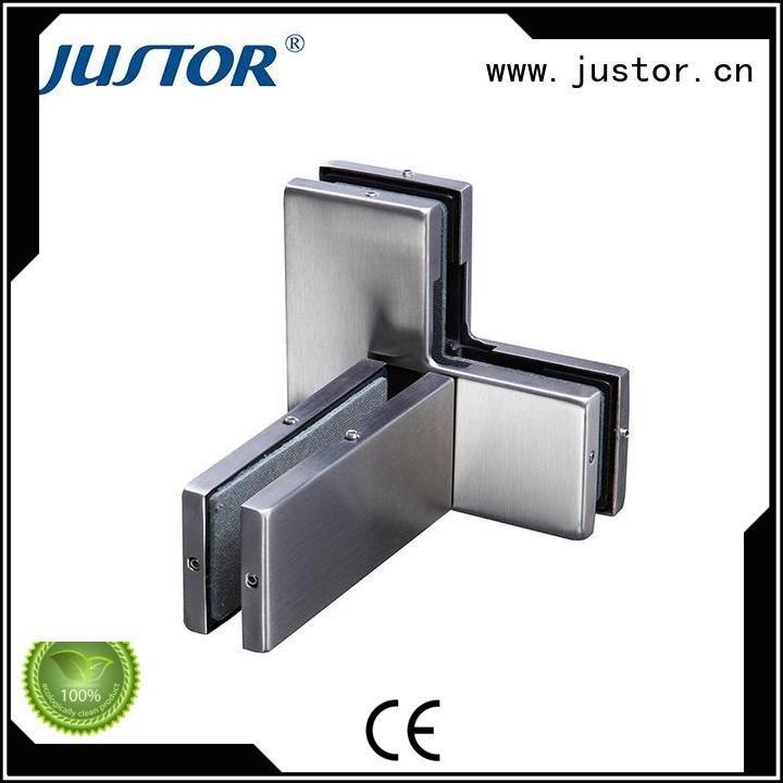 Kaida glass hardware Brand zinc glass door fittings 12mm floor spring